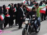 گزارش تصویری استقبال مردم آذربایجان غربی از رییس جمهور