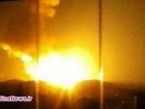 حمله موشکی اسرائیل به حومه دمشق