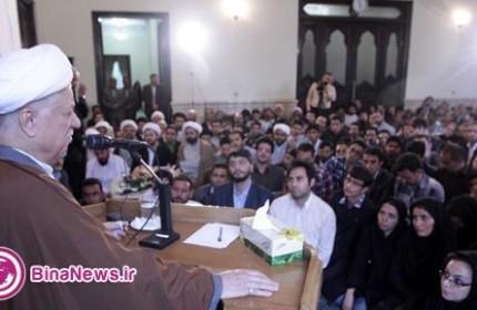 آيت الله هاشمي رفسنجانی:حماسه انتخابات پاسخ نه به انحصارگرايی بود