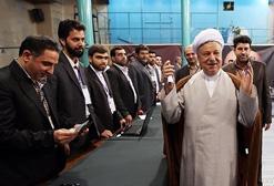 هاشمی رفسنجانی : ایران دموکرات ترین انتخابات دنیا را برگزار کرد