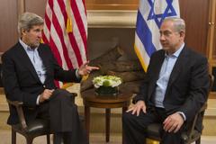 احیای مذاکرات صلح خاورمیانه، محور مذاکرات کری و نتانیاهو