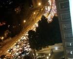 جشن و خوشحالی مردم اورمیه بعد از اعلام نتایج انتخابات