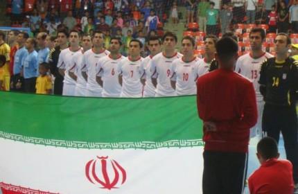 تیم ملی فوتسال ایران قهرمان تورنمنت چین شد