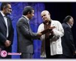 اعطای نشان درجه یک فرهنگ از سوی رییس جمهور به ارجمند و عبدی