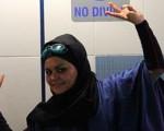 الهام السادات اصغری:رکورد زدم اما به لباسم گیر داده اند!+عکس