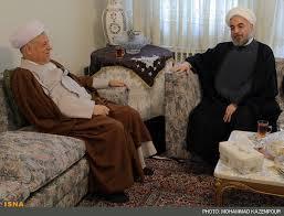 هاشمی رفسنجانی: امیدوارم اقدامات روحانی بزودی به نتیجه برسد