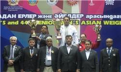 تیم ملی وزنهبرداری ایران قهرمان آسیا شد