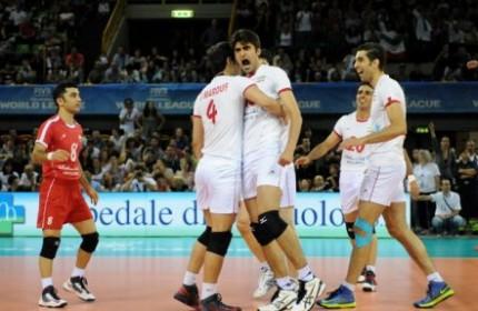 لیگ جهانی والیبال / مليپوشان ایران در مقابل کوبا سفيد ميپوشند