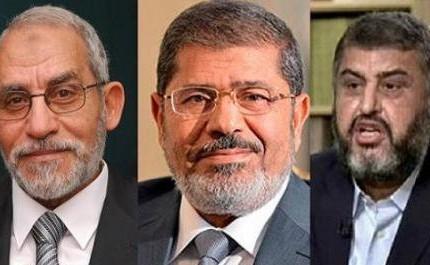 رسیدگی به اتهامات مرسی و رهبران اخوان المسلمین دوشنبه آغاز میشود