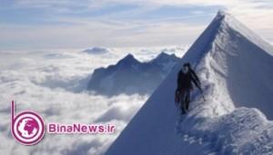 تماس تلفنی کوهنورد ایرانی مفقود شده