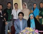 پاگشای فرزاد حسنی و آزاده نامداری از طرف بازیگران مشهور سینما+عکس