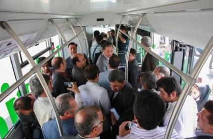 اجرای آزمایشی استفاده رایگان از اینترنت در اتوبوسهای تهران