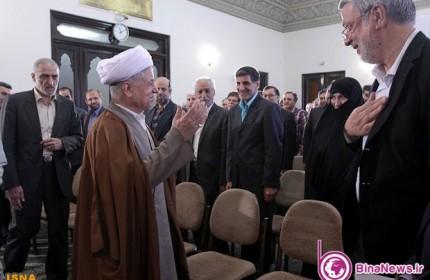 دیدار جمعی از اساتید با آیت الله هاشمی رفسنجانی+7عکس