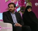 رئیس مرکز ملی فضای مجازی و همسرشان در شبکه دو سیما +عکس