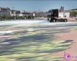 خلق بزرگترین نقاشی سه بعدی جهان در فرانسه+۵عکس