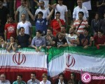 ایرانیان حامی تیم ملی والیبال در ایتالیا+۱۰عکس