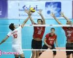 عکسهای والیبال ایران و آلمان