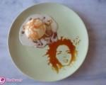 هنر عجیب نقاشی با انواع غذاها+۶عکس