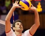 عکسهای بازی والیبال ایران و کوبا