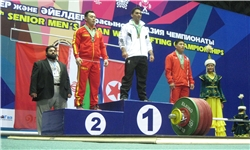 وزنهبرداری یونیورسیاد ۲۰۱۳ / کسب نخستین طلای کاروان ایران