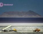 تصاویری از آخرین وضعیت دریاچه اورمیه +۸عکس