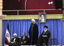 موضعگیری فارس نسبت سخنان عید فطر رییس جمهور در حضور رهبری