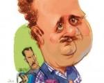 کاریکاتور هومن برقنورد در دودکش