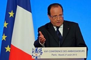 فرانسه: آماده مجازات اسد هستیم