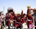 مراسم عروسی در ترکمن صحرا + تصاویر