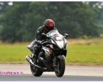 سریعترین موتورسوار نابینا /عکس