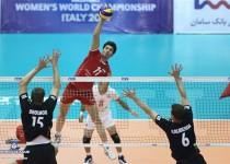 والیبال روسیه بالاخره در سومین بازی موفق به شکست ایران شد