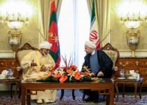 تاکید بر گسترش روابط تهران -مسقط در دیدار روحانی و پادشاه عمان