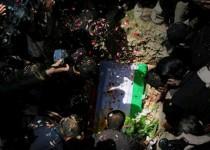 عکسهایی از خاکسپاری شیرکو بیکس