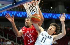 پیروزی بسکتبالیستهای ایران بر کرهجنوبی