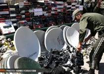 پاتک پلیس به بزرگترین شبکه قاچاق ماهواره