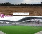 تفاوت ساخت یک استادیوم در ایران و اروپا/تصاویر