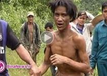پدر و پسری بعد از 40 سال زندگی مخفی در جنگل پیدا شدند