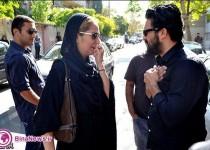 مراسم ختم پدر حامد بهداد با حضور بازيگران/تصاوير