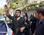 مراسم ختم پدر حامد بهداد با حضور بازیگران/تصاویر