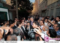 بازگشت محمود احمدینژاد به نارمک +6عکس