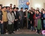 دیدار جمعی از خبرنگاران با سید محمد خاتمی+۵عکس