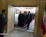 «حسن روحانی» به همراه وزرای پیشنهادی در مجلس+۹عکس