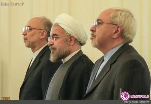 تودیع و معارفه صالحی و ظریف در وزارت خارجه +5عکس