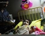 تصاویری تاثر انگیز از شب قدر در کنار کودکان بیمار +۷عکس