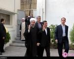 ورود حجت الاسلام حسن روحانی به نهاد ریاست جمهوری+۸عکس