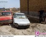 عمق فاجعه وقوع سیل در جیرفت+عکس