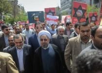 حسن روحانی: اشغال سرزمین فلسطین زخمی بر بدن دنیای اسلام است
