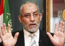 رهبر اخوان المسلمین مصر بازداشت شد