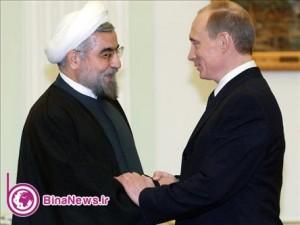 دیدار  روساي جمهور ايران و روسيه در  بيشكك