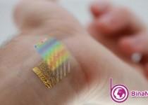 نظارت بر دمای پوست با دماسنج چسبی